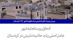 بررسی پدیده حاشیه نشینی در استانهای کشور ۴۲/ کردستان