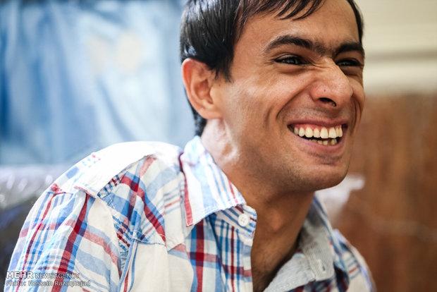 گفتگوی مهر با مخترع معلول