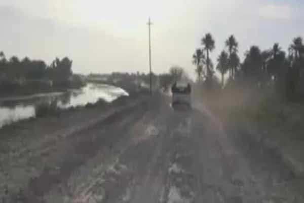 فیلم/تحرکات نیروهای عراقی در استان صلاح الدین