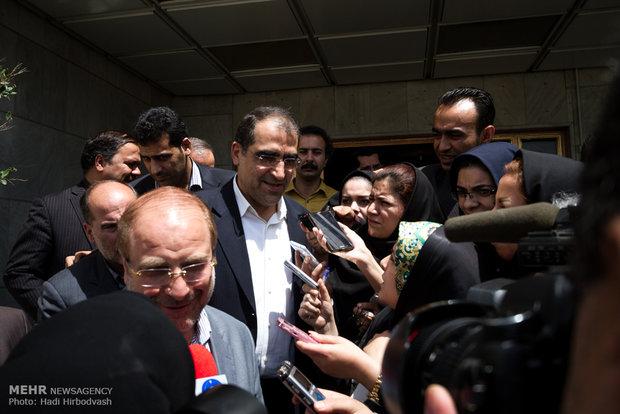 جلسه شورای شهر تهران با حضور وزیر بهداشت