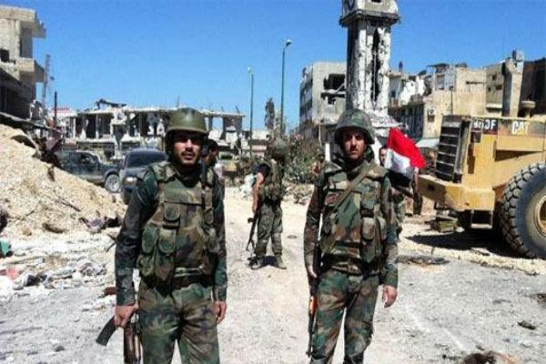 """تدمير خطوط إمداد لإرهابيي تنظيم """"جبهة النصرة"""" من الأراضي الأردنية في درعا البلد"""
