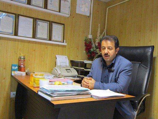 صفوی رئیس اتحاده زنبور داران اردبیل