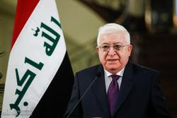 Fuad Masum, Haşdi Şabi yasa tasarısını imzaladı