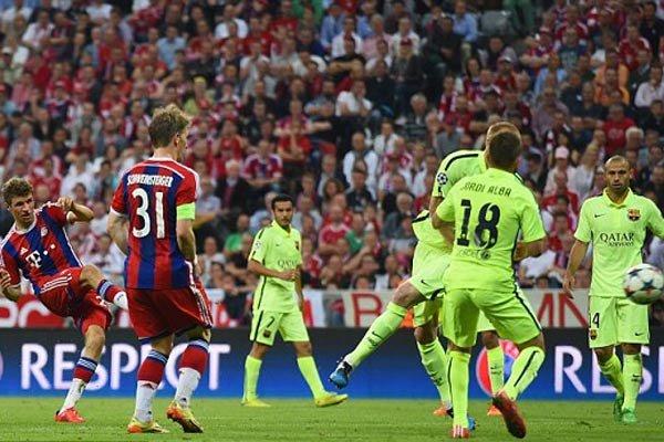 زمان بازی بارسلونا بایرن مونیخ