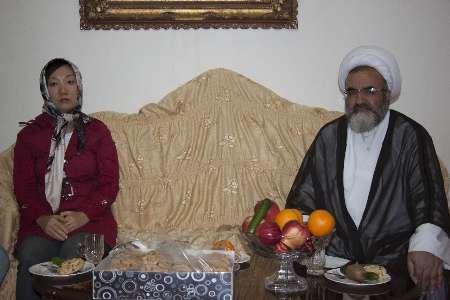تشرف بانوی کره ای به دین مبین اسلام در مراغه
