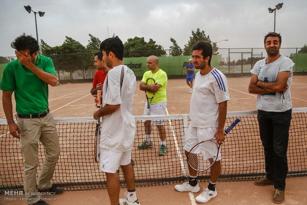مسابقات تنیس آزاد قهرمانی کشور