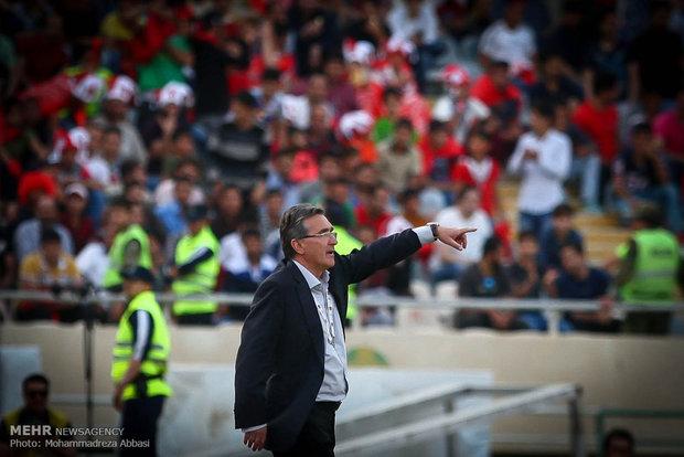 دیدار تیم های پرسپولیس و استقلال