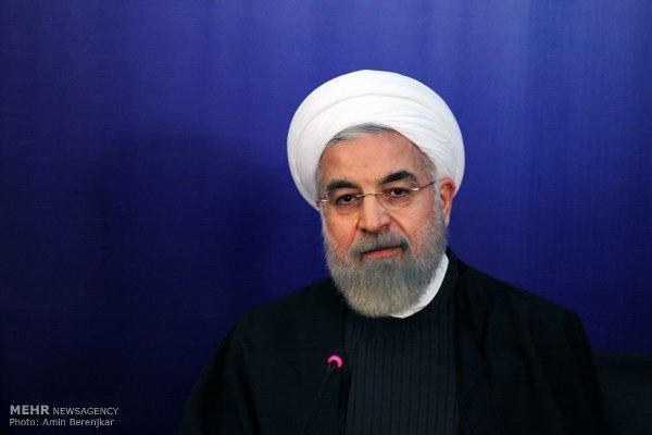 الرئيس روحاني يؤكد ان حكومته تتحرك حسب أصوات الشعب