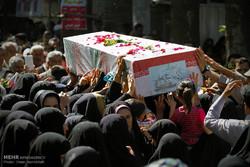 پیکر ۹ شهید گمنام وارد بوشهر شد