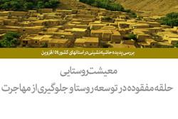 بررسی پدیده حاشیه نشینی در استانهای کشور ۵۴/قزوین