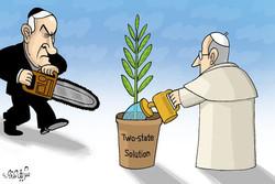 Vatican, Palestine and Israel