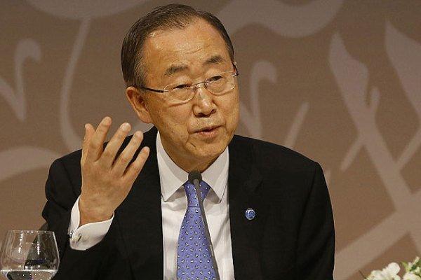بان كي مون يؤكد ضرورة التوصل الى اتفاق نووي في الموعد المقرر