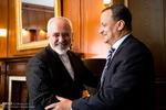 دیدار ظریف با نماینده ویژه دبیر کل سازمان ملل در امور یمن