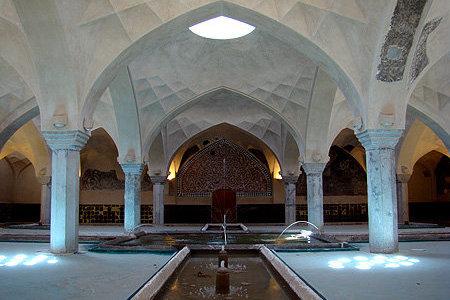 کراپشده - حمام شیخ بهایی