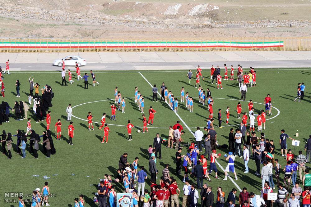 تصاویر حضور وزیر ورزش و جوانان در میانه