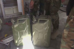 Serakib'de militanların kimyasal saldırı hazırladıklarına dair kanıt bulundu