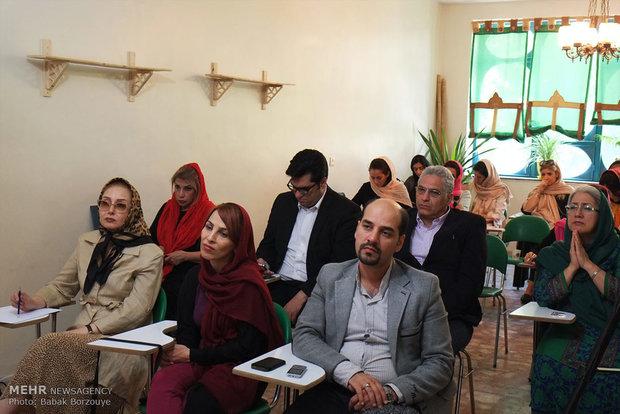 برگزاری کلاسهای اموزشی جهت دواطلبان بنیاد نیکو کاری کمک کیش مهر