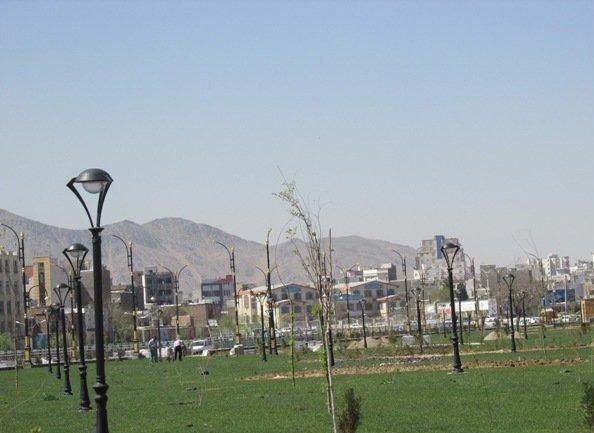 ۱۳ پارک در ساری احداث شده است