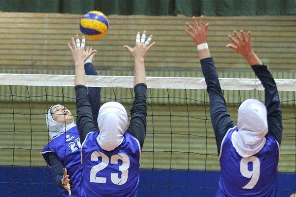 مسابقات والیبال قهرمانی دختران کشور در کرمانشاه آغاز شد