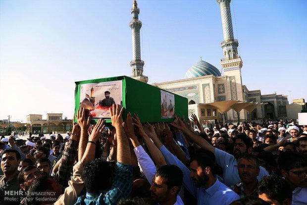 تشییع پیکر شهید ساجد حسین (شهید پاکستانی )