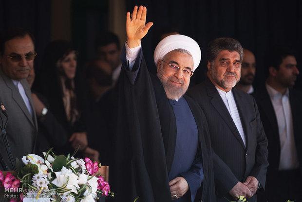 Cumhurbaşkanı Ruhani, Tahran Eyaleti şehirlerini gezdi