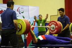 روز دوم رقابتهای وزنهبرداری قهرمانی جانبازان و معلولین