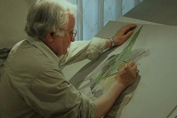 نقاشی استاد فرشچیان از امام علی