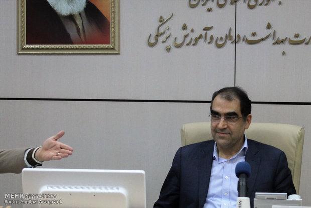 وزير الصحة يؤكد استمرار دعم الجمهورية الاسلامية الايرانية لسوريا