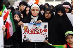 تجمع اعتراض آمیز مردم مشهد به زیاده خواهی های امریکا در مذاکرات هسته ای