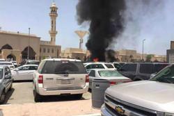 انفجار مسجد امام حسین عربستان