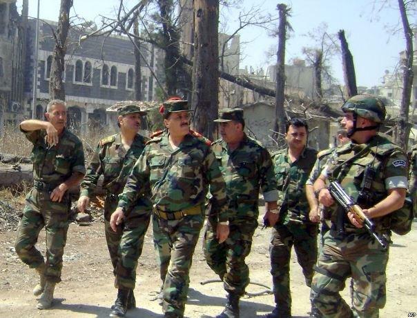 الجيش السوري يخوض معركة مزدوجة