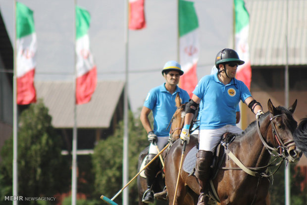 Men's polo games in Tehran