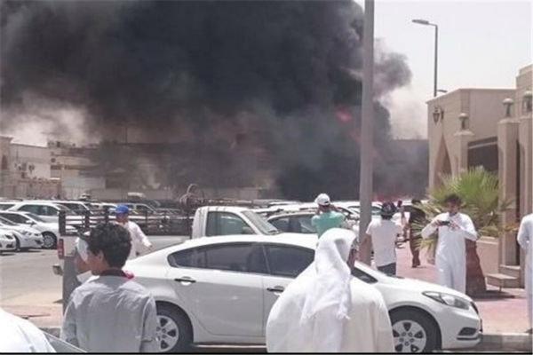 تفجير إرهابي في مسجد الإمام الحسين في الدمام بالسعودية
