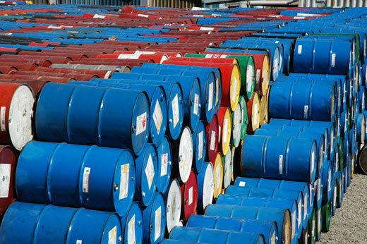 بشکه های نفت