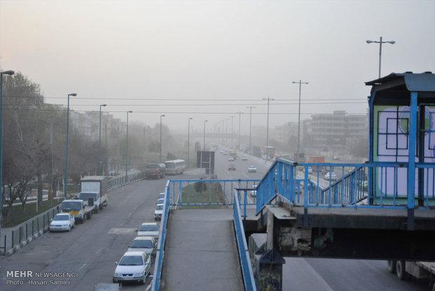 آخرین تغییرات جوی در البرز/ هوای کرج و ساوجبلاغ بسیار ناسالم شد