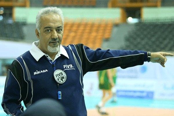 محمد شاهمیری داور دربی والیبال آذربایجان انتخاب شد