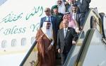 دیدار ملک سلمان با رئیسجمهوری مستعفی یمن در عربستان