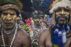 مهرجان القبائل في بابوا غينيا الجديدة