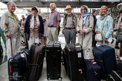 ورود مسافران قطار هزار و یک شب به تهران