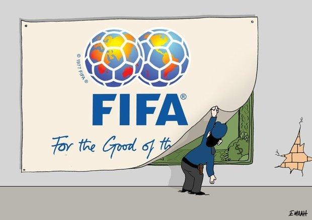 تفشي الفساد في الفيفا