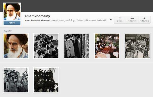 اینستاگرام امام خمینی