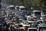 جاده ایلام - مهران قفل شد/ترافیک سنگین است