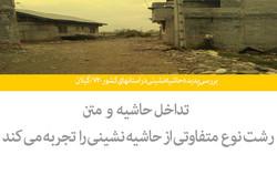 بررسی پدیده حاشیه نشینی در استانهای کشور-۷۲ /گیلان