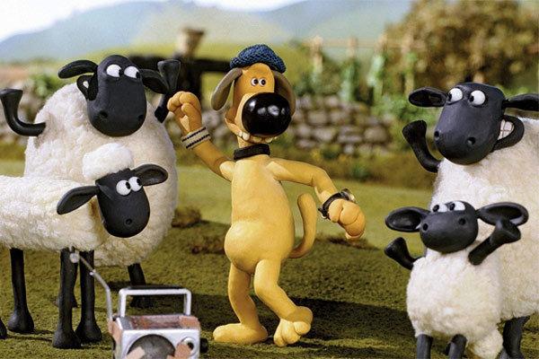 انیمیشن شان گوسفنده