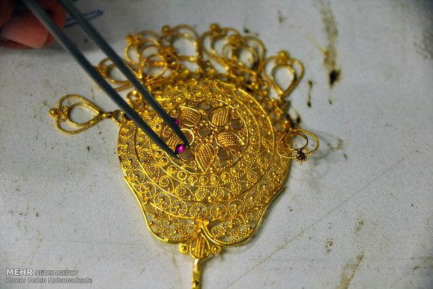 مصنع صياغة الذهب في سيستان وبلوشستان