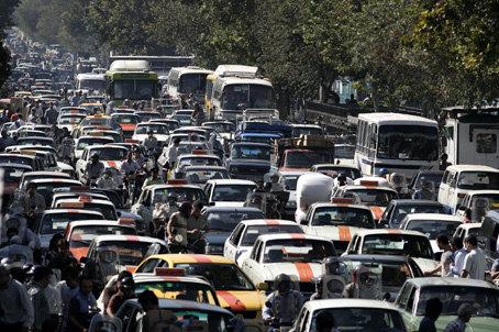 آخرین وضعیت ترافیکی جادهها/کرج - چالوس سنگین است