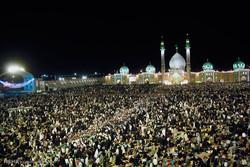 مسجد جمکران میں منجی عالم بشریت کا جشن