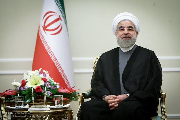 الرئيس روحاني : لا عوائق امام تعزيز العلاقات مع سنغافورة