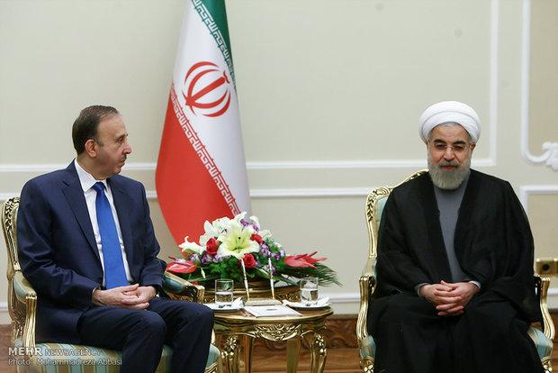 Ruhani, Suriye Meclis Başkanı'nı kabul etti