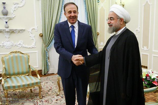 رئيس الجمهورية : ايران ستقف الى جانب سوريا حتى النهاية